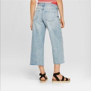 8aa323a6f4a Universal Thread Jeans - Universal Thread High Rise Wide Leg Crop Jeans 8